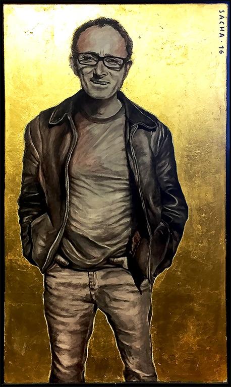 Sacha Schwarz - Oeuvres - Autoportraits : Autoportrait 2