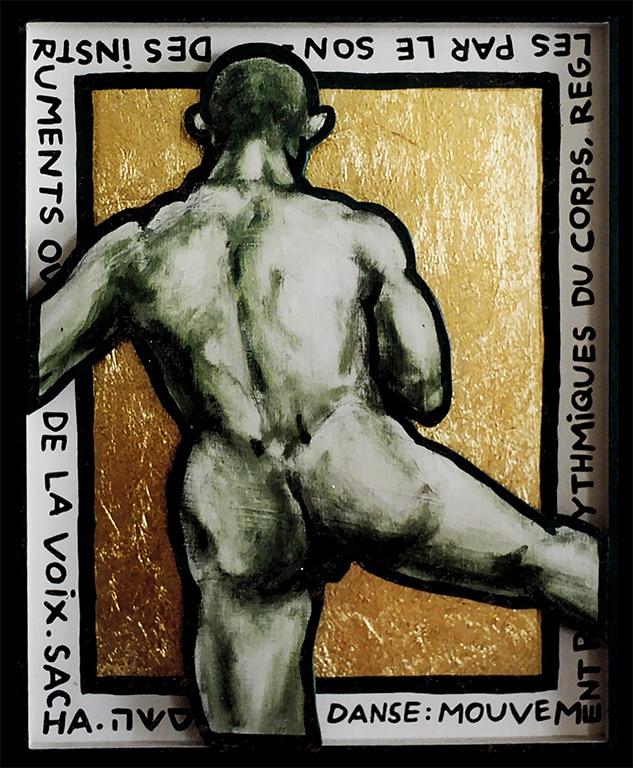 Sacha Schwarz - Oeuvres - Hommes : Homme 6