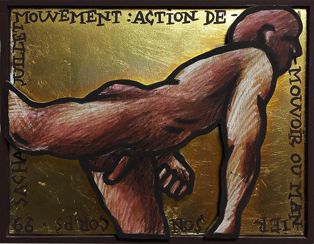 Sacha Schwarz - Oeuvres - Hommes : Mouvement