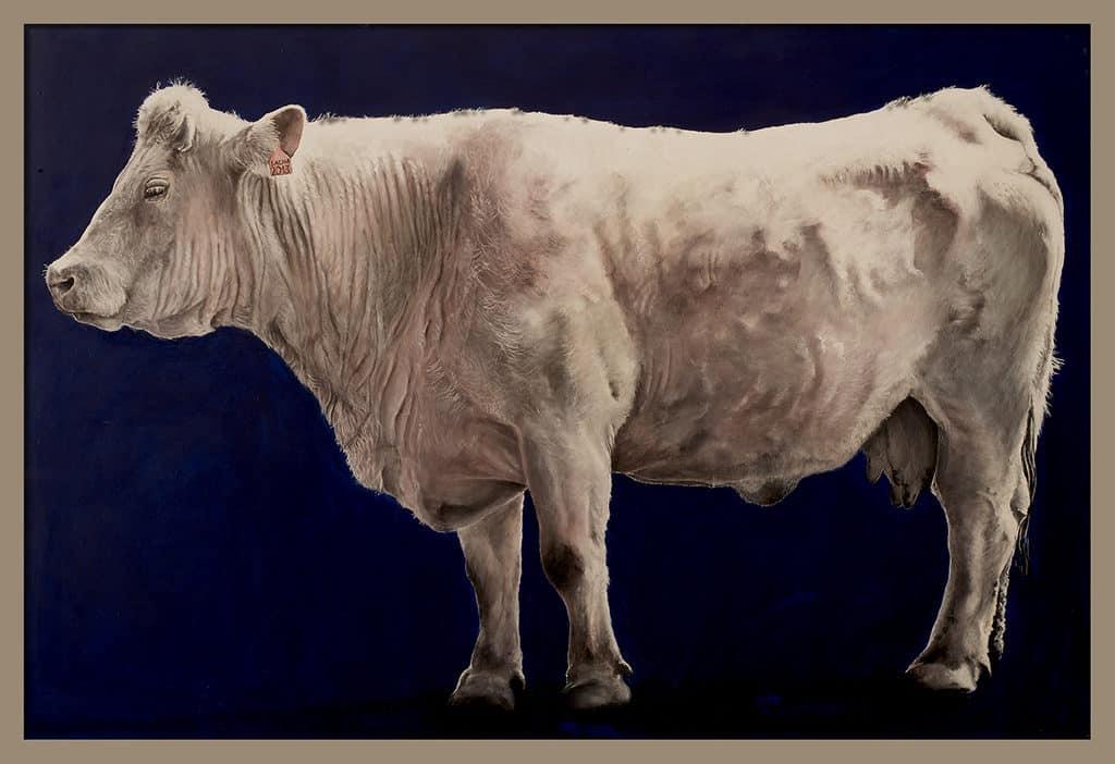 Sacha Schwarz - Oeuvres - Vaches - Icones : Vache 10